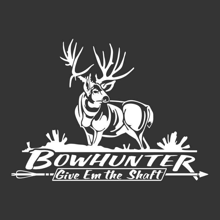 bowhunter mule deer window decal texas bowhunting arrow car truck decal hunting decals