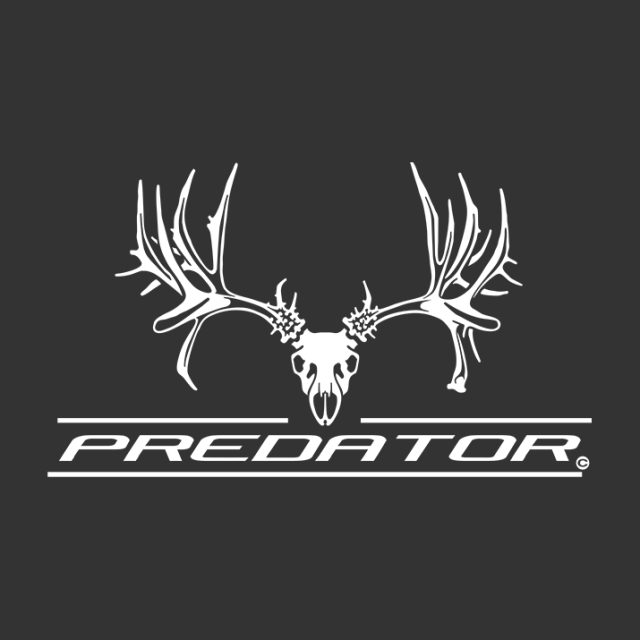 Predator Mule Deer Window Decal